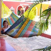 Mexican Hammock in Robust and Strong Nylon