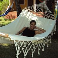 Romantica - fabric hammock with 140 cm spreader bars