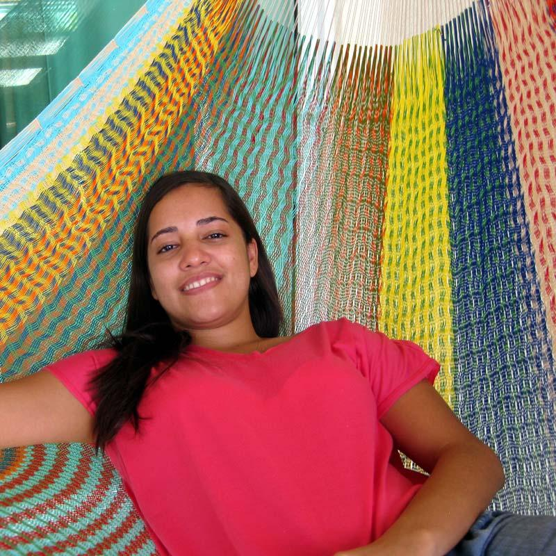 Hammock in beautiful colors