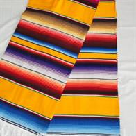 Colorful Mexican plaids in summer colors. No. DSC00951-yellow oro.
