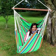 Mexico Green Hammock Chair in colorful fabric DVT555