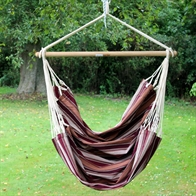 Colorful Outdoor hammock chair XL. Green and color mix.