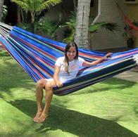 INKA Hammock in colorful fabric for play and enjoyment