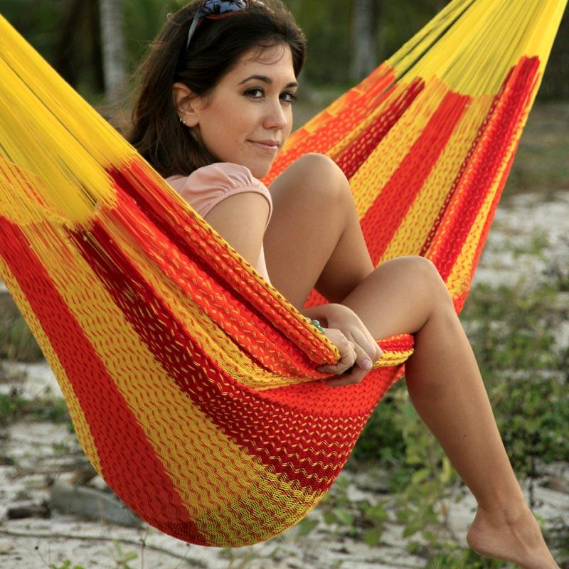 Hammock in summer colors
