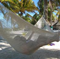 Hammock mayan single. No. 3 - natural white