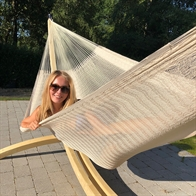 Gigant Hammock Natural in very large cotton net