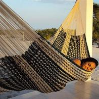 Cotton ThickCord Hammock - Mix of 2 color