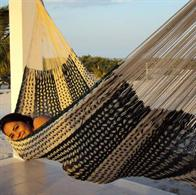 Hammock in 100% nylon woven with Thick Cord. K12