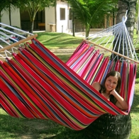 Mexico Pink hammock with 80 cm spreader bars