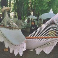 Decorative hammock from Nicaragua with Beautiful decorations with nice details No. 24