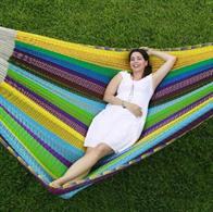 Original Mexican Hammock King Size Special XXXL Color Mix