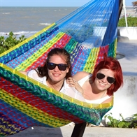 Hammock made of nylon in Thick Cord. K24-Nylon