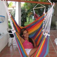 Hammock chair in 100% Quality cotton with the most beautiful colors.