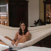 Natural White Hammocks with Thick Cord Cotton - Ohio