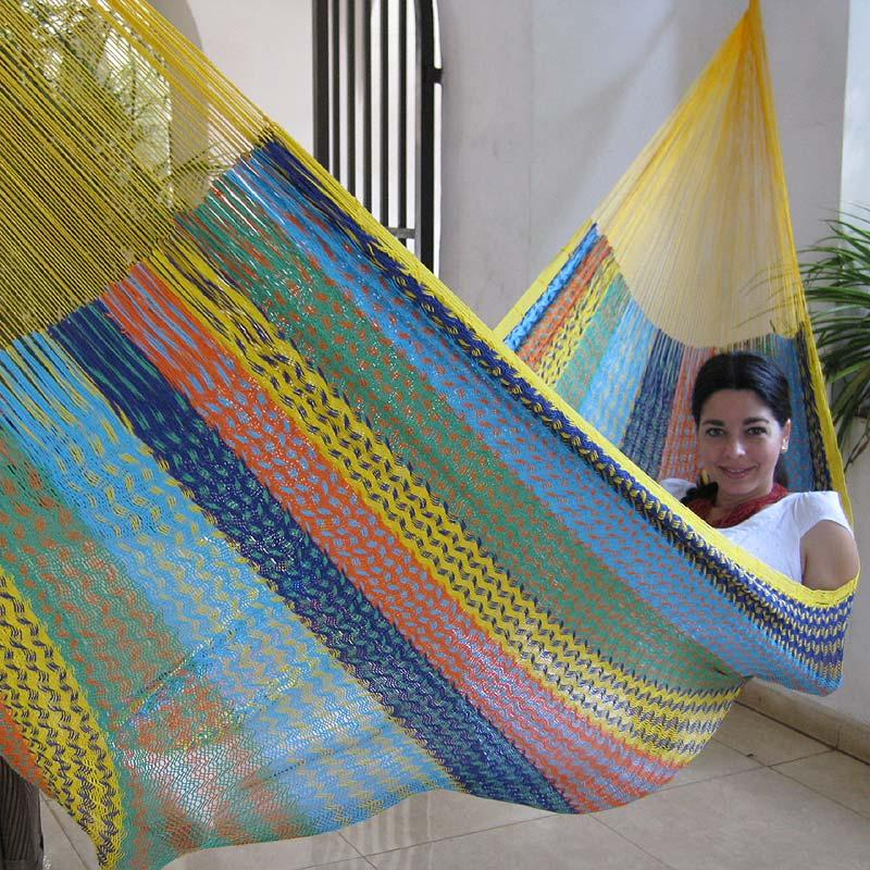 Hammock in sophisticated weave-braided technology
