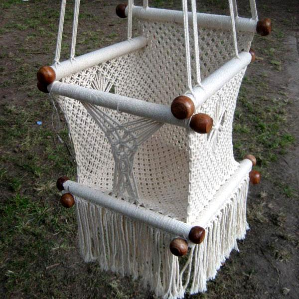 The baby hammock chair
